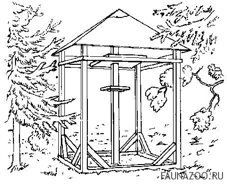 Садовая кормушка
