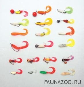 Выбираем цвет приманки для ловли окуня
