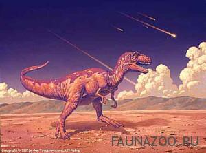 Почему динозавры вымерли