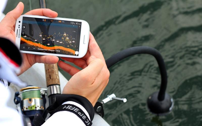 Выбор эхолота для рыбалки